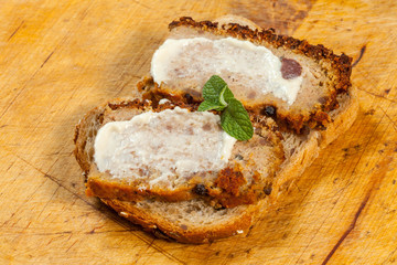 Traditional tasty pate.
