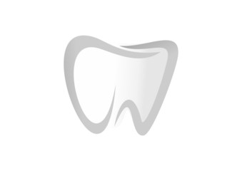 logo dental business icon tooth klinik dental symbol