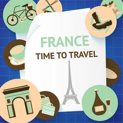 Paris background template