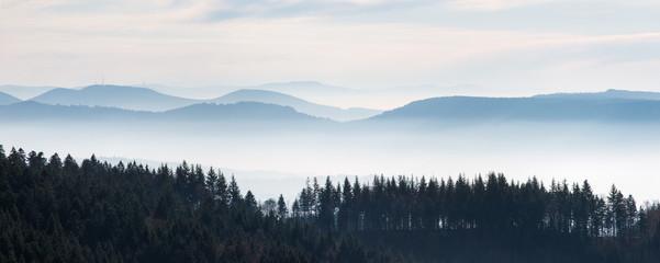Schwarzwaldhöhen: Blick vom Schliffkopf