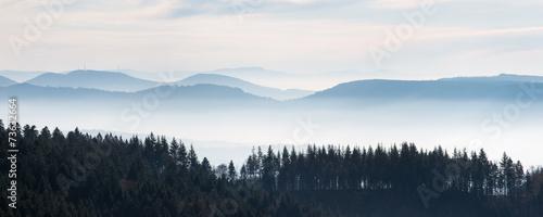 Schwarzwaldhöhen: Blick vom Schliffkopf - 73632664