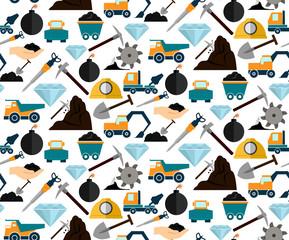 Mining seamless pattern