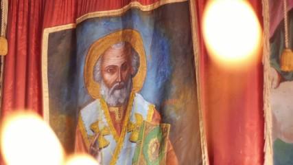 icon in orthodox church