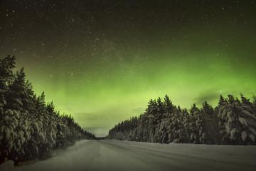 The amazing Northern Lights Aurora Borealis