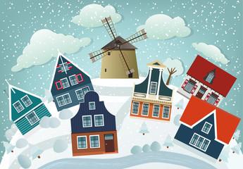 Dutch countryside (Winter)