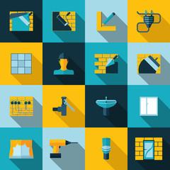 Home repair icons