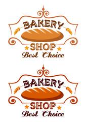 Bakery shop label