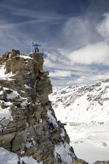 High altitude - Stock Image