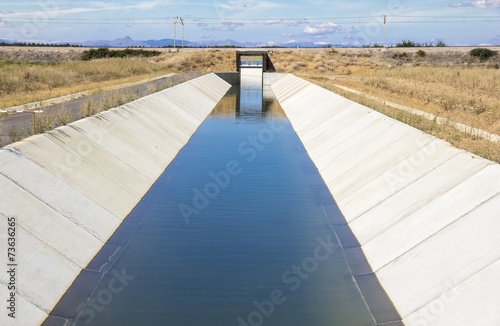 Aluminium Kanaal irrigation watercourse