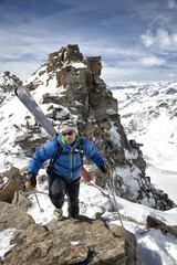 Winter climb