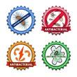 Antibacterial badges set - 73636802