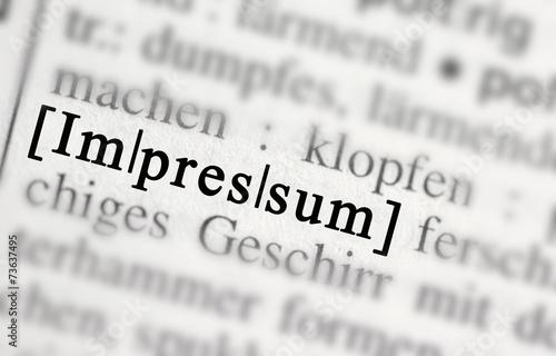 impressum - 73637495