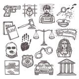 Law icon sketch