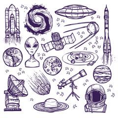 Space sketch set