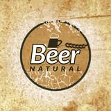 Beer vintage label