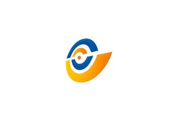 circle target perspective logo
