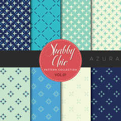 Shabby Chic Pattern Collection - Azura