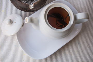 teapot for afternoon tea time