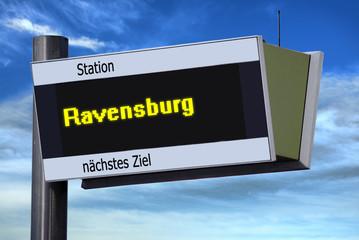 Anzeigetafel 6 - Ravensburg