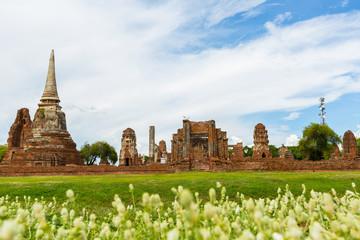 wat Chaiwattanaram at Ayutthaya Historical Park Thailand