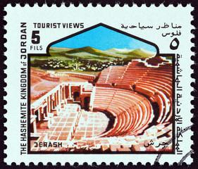 Ancient theatre, Jerash (Jordan 1978)