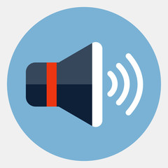 Vector speaker icon