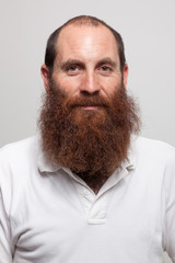 Red beard man