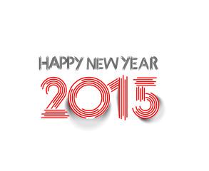 Happy new year 2015 Text Design
