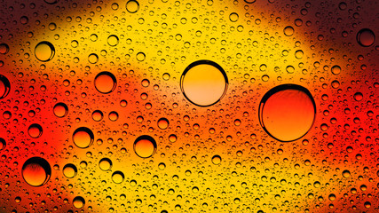 Fire and liquid, abstract environmental backgrounds for your des