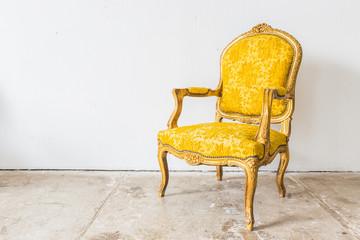 Yellow Vintage sofa