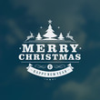 Christmas greeting card light vector background