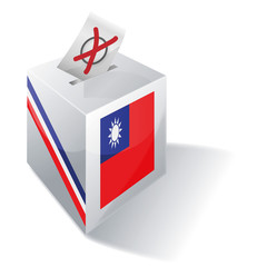 Wahlbox Taiwan