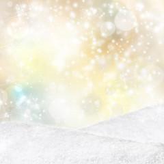 christmas winter deko flyer
