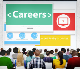 Careers Employment Job Recruitment Profession Seminar Conference