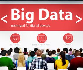 Digital Online Business Office Conference Concept