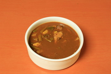 Kaeng tai pla is a curry of southern Thai cuisine