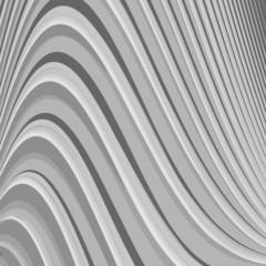 Design monochrome parallel waving lines background