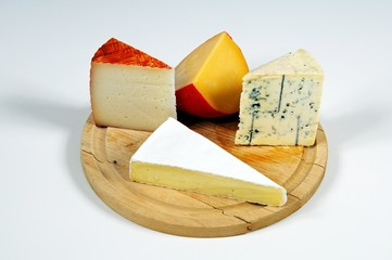 Cheese selection © Arena Photo UK