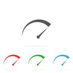 Tachometer symbol icon