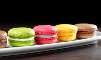 Original Paris Macaroons , delicious French pastries