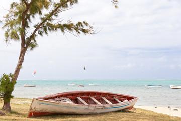plage et lagon rodriguais