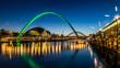 Millennium Bridge - Newcastle Quayside - 73654222