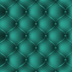 Turquoise leather upholstery furniture. textured background