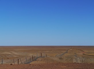 The dog fence in the Southern states of Australia