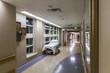Corridor in a modern hospital. - 73658659