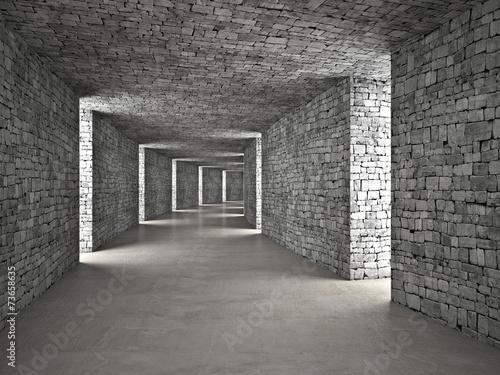 fototapeta na ścianę streszczenie tunelu
