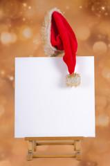 Leinwand zu Weihnachten