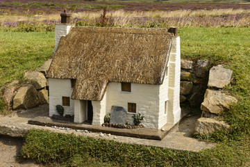 model of cottage at Land End 03, Cornwall