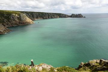 Porthcurno bay, Cornwall