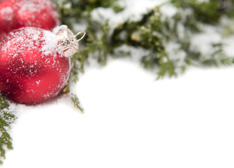 Noël boule et sapin